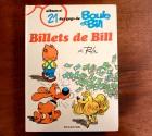 BOULE ET BILL, BILLET DE BILL