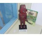 le fétiche Arumbaya tiré de  l'album de Tintin l'oreille cassée